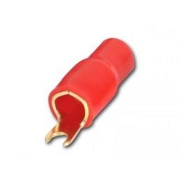 Gabelkabelschuh für 35 mm² Kabel rot für Anschluß an Verstärker