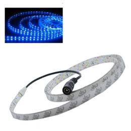 LED SMD Streifen 1 Meter 60 SMD, selbstklebend 12V,Wasserfest Blau
