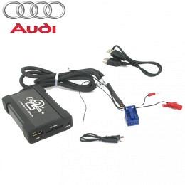 Audi USB, SD, AUX-Adapte  Fahrzeuge ab 2003> mit Quadlock