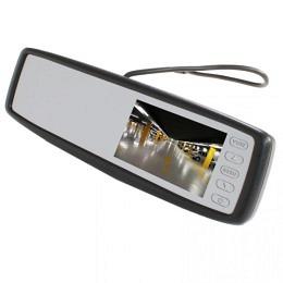 "Rückspiegelmonitor 4,3"" Display mit Klippsystem RV4305"