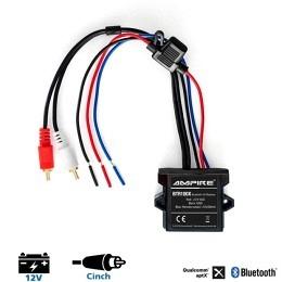Ampire BTR100 Bluetooth Receiver wasserdicht, ideal für Auto/Motorrad oder Boot