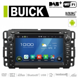 Android Autoradio für Buick (diverse Modelle), DAB+ ready, Berling AN-7036