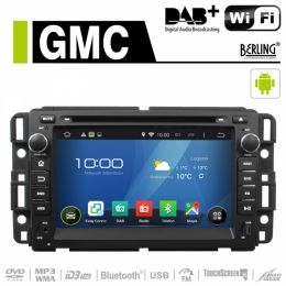 Android Autoradio für GMC (diverse Modelle), DAB+ ready, Berling AN-7036