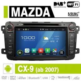 Android Autoradio für Mazda CX-9 (ab 2007), DAB+ready, Berling AN-8069