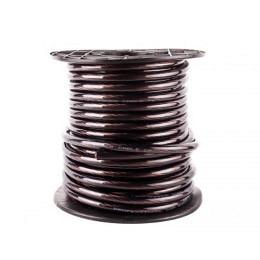 Stromkabel 20 mm² Ø, Vollkupfer (High-Quality) Meterware, schwarz