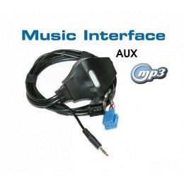 AUX-IN Adapter Mini-ISO für AUDI, VW, SEAT, SKODA