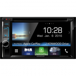 "Kenwood DDX8016DABS CD/DVD/6,5"" Touch/USB/HDMI/Apple Car Play/DAB+, inkl Antenne"