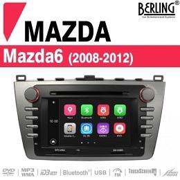 Autoradio Navigation für Mazda 6 (2008 - 2012), Berling TS-1402HD-3