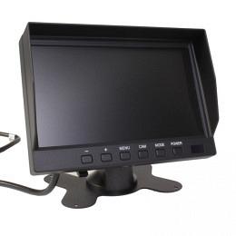 """7"""" TFT Bildschirm mit Intervallmodus, Parkleitlinien, 4PIN, Berling CMD-070A-2-2"""