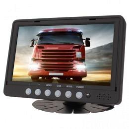 """7"""" TFT Bildschirm, 4 Eingängen 4PIN, Spiegelung, Parkleitlinien, Berling CMD-521"""