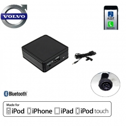 Bluetooth®-Musikstreaming & Freisprechfunktion für Volvo ab 2004-> mit HU Radios