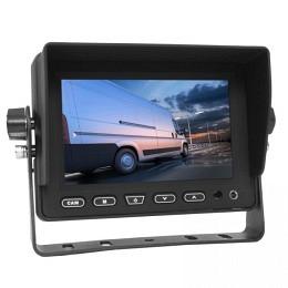 """5"""" TFT Bildschirm mit 3 Eingängen 4PIN, Front-Aux, Lautsprecher, Berling CMD-500"""