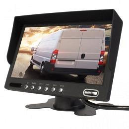 """7"""" Quad-Bildschirm mit 4 Eingängen 4PIN, 4-fach Splitscreen, Berling CMD-700MQ"""