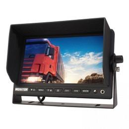 """7"""" TFT Bildschirm, 4PIN, Front-AUX-In, Lautsprecher, Spiegelung,Berling CMD-707M"""