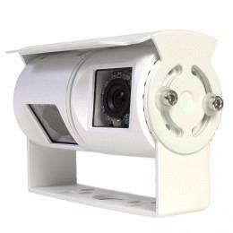 Heck Rückfahrkamera, zwei neigbare Dual-Kameras, 170°, weiss, Berling CMR-330D