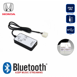 Bluetooth A2DP, USB, AUX Interface für Honda Acord, Civic, Jazz, S2000 ab 2001->