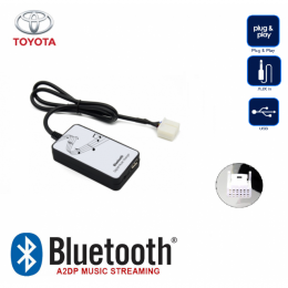 Bluetooth A2DP, USB, AUX Interface fürToyota, Lexus ab 2003 -->