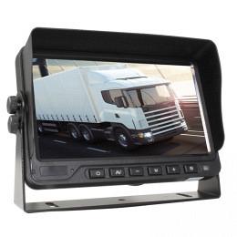 "7"" Quad-Bildschirm 4x4PIN Splitscreen, DVR-Aufnahmefunktion, Berling CMD-070DVR"