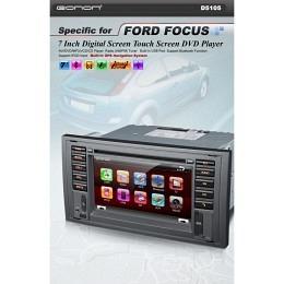 """B-WARE, 2-DIN Autoradio, GPS/Navigation, für Ford Focus """"eonon D5105"""" (B-065)"""