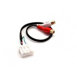 AUX Adapter für Mazda auf Cinch / alle Modele bis 2017, mit OEM AUX-Vorbereitung