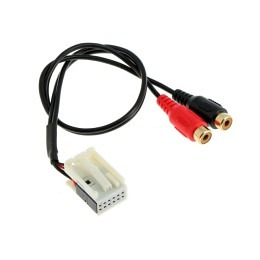 AUX-IN Adapterkabel für Mercedes ab 2004-2014, mit Audio 20/30 APS COMAND / NTG
