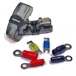 Ampire XSI35 Hochwertiges Sicherungshalter-Set für 20 bis 50mm² Stromkabel