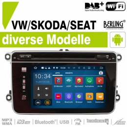Autoradio Navigation für SEAT, Berling TS-1110HD, ANDROID Version