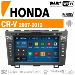 Autoradio Navigation für HONDA, Berling TS-1301HD-3, ANDROID Version