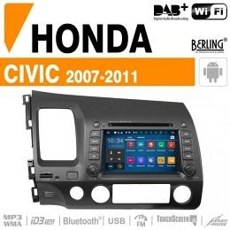Autoradio Navigation für Honda, Berling TS-1302HD-3, ANDROID Version