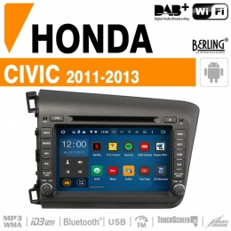 Autoradio Navigation für Honda, Berling TS-1312HD-3, ANDROID Version