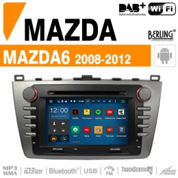 Autoradio Navigation für Mazda, Berling TS-1402HD-3, ANDROID Version