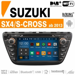 Autoradio Navigation für Suzuki, Berling TS-1506HD, ANDROID Version