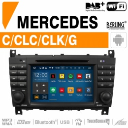 Autoradio Navigation für Mercedes, Berling TS-1617SC-4, ANDROID Version