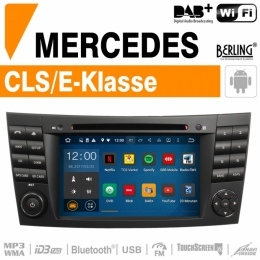 Autoradio Navigation für Mercedes, Berling TS-1618S-3, ANDROID Version