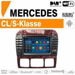 Autoradio Navigation für Mercedes, Berling TS-1625S-1, ANDROID Version