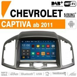 Autoradio Navigation für Chevrolet, Berling TS-1651S-1, ANDROID Version