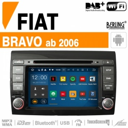 Autoradio Navigation für Fiat, Berling TS-1661S-2, ANDROID Version