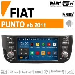Autoradio Navigation für Fiat, Deckless, Berling TS-1680S, ANDROID Version