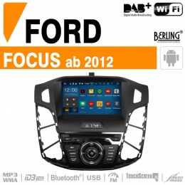 Autoradio Navigation für Ford, Berling TS-1805HD-2, ANDROID Version