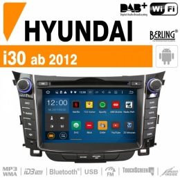 Autoradio Navigation für Hyundai, Berling TS-1918HD-2, ANDROID Version