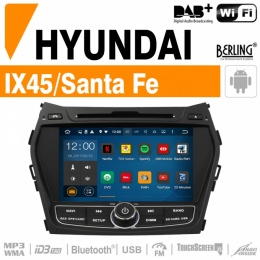 Autoradio Navigation für Hyundai, Berling TS-1920HD-1, ANDROID Version