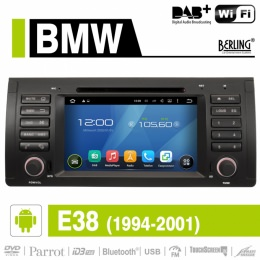Android Autoradio für BMW E38 7er 1994-2001, DAB+ ready, Berling AN-7502