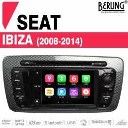 Autoradio Navigation für Seat Ibiza 2008-2015, TS-1208T, B-Ware (Nr. 440)