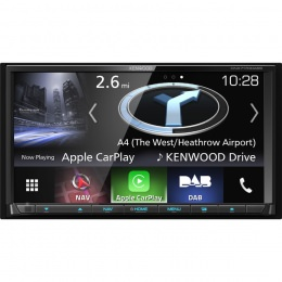 Kenwood DNX7170DABS 7 Zoll CD/DVD/Navi/DAB+/HDMI/MHL/Apple CarPlay/Android Auto