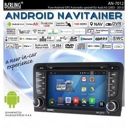 Android Autoradio speziell für Audi A3/S3/RS3, Navigation, B-Ware (Nr. 203)
