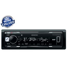 Kenwood KMM-BT502DAB, Bluetooth-Freisprecheinrichtung, USB/DAB+, Apple & Android