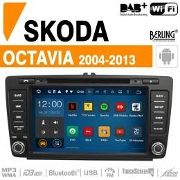 Autoradio Navigation für Skoda, Berling TS-1206T-1, ANDROID Version