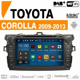 Autoradio Navigation für Toyota, Berling TS-1207HD-1, ANDROID Version