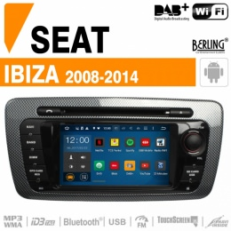 Autoradio Navigation für Skoda/Seat, Berling TS-1208T, ANDROID Version