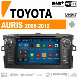 Autoradio Navigation für Toyota, Berling TS-1211HD-1, ANDROID Version